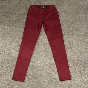 Red Express Skinny Jeans